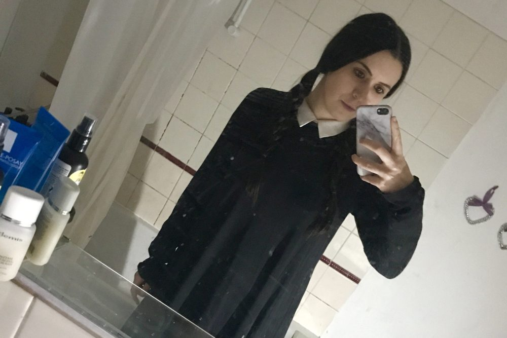 wednesday addams outfit